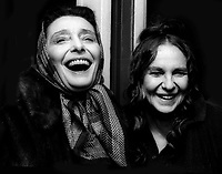 Patricia Neal Geraldine Page 1981<br /> Photo by Adam Scull/PHOTOlink.net