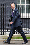 © Joel Goodman - 07973 332324 . 11/05/2015 . London , UK . CHRIS GRAYLING arrives at 10 Downing Street this morning (11th May 2015) . Photo credit : Joel Goodman