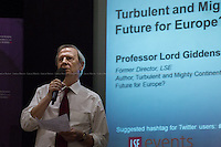 31.10.2013 - LSE presents: Professor Lord Anthony Giddens