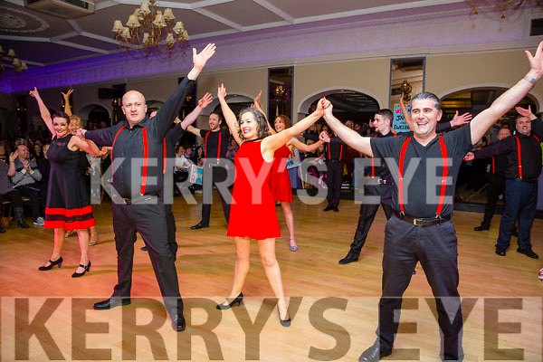 At the  Ballymac Strictly Love Dancing fundraiser at Ballygarry House hotel on Saturday