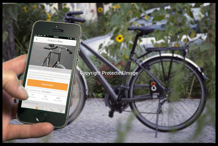 BNPS.co.uk (01202 558833)<br /> Pic: Lock8/BNPS<br /> <br /> ***Please use full byline***<br /> <br /> A high-tech bike lock has been invented to combat thieves - by sending a message to the owner every time someone tries to tamper with it.<br /> <br /> The black, triangular device is attached to a normal bike chain but is equipped with Bluetooth technology.<br /> <br /> It can be locked and unlocked remotely using Android or iOS smartphones and tablets, and had special sensors to detect any thieves.<br /> <br /> The LOCK8 costs around &pound;110 and is available for pre-order online.