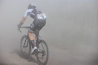 Bodi Del Grosso (NED/a Bloc) riding in the dust<br /> <br /> <br /> Antwerp Port Epic 2020 <br /> One Day Race: Antwerp to Antwerp 183km; of which 28km are cobbles and 35km is gravel/off-road<br /> Bingoal Cycling Cup 2020