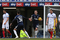 Simon Cox of Southend United celebrates scoring the second Blues goal from the penalty spot during Southend United vs Portsmouth, Sky Bet EFL League 1 Football at Roots Hall on 16th February 2019