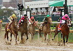 May 04, 2019 : #20 Country House and jockey Flavien Prat win the 145th Kentucky Derby Grade 1 $3,000,000 for trainer William Mott at Churchill Downs on May 04, 2019.  Candice Chavez/ESW/CSM