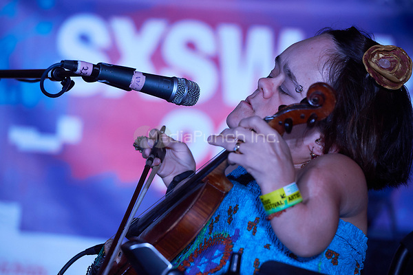 AUSTIN, TX - MARCH 17: Gaelynn Lea performs at St. David's Episcopal Church on March 17 in Austin, Texas during the 2017 South by Southwest music festival. Credit: Tony Nelson/MediaPunch