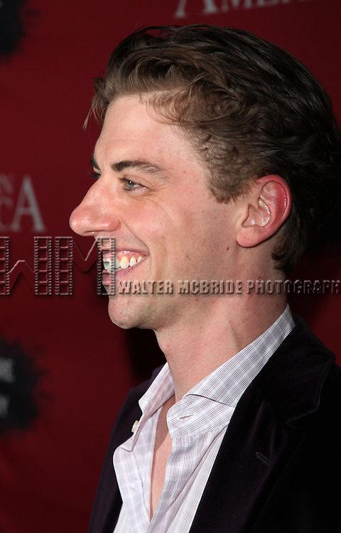 """Christian Borle.Attending the Opening Night Performance After Party for the Signature Theatre Company's """"Angels In America""""  at Pio Pio 604 Restaurant on October 28, 2010 in New York City...."""