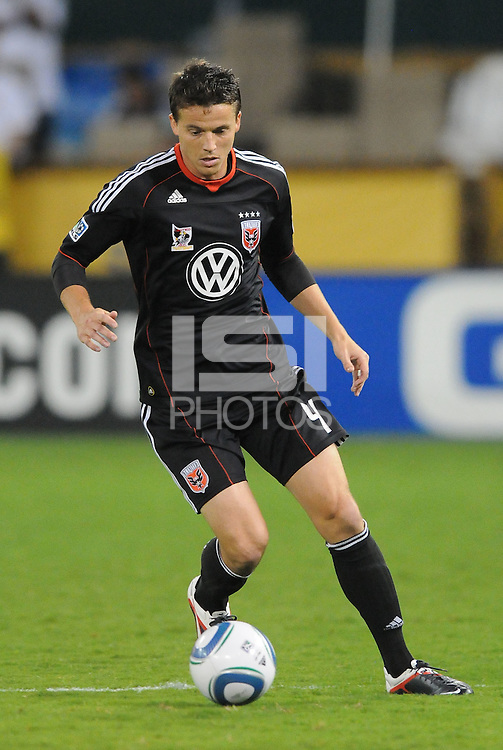 D.C. United defender Marc Burch (4). D.C. United defeated Real Salt Lake 4-1 at RFK Stadium, Saturday September 24 , 2011.