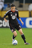 D.C. United defender Marc Burch (4). D.C. United defeated Real Salt Lake 4-1 at RFK Stadium, Saturday September 24 , 2011.