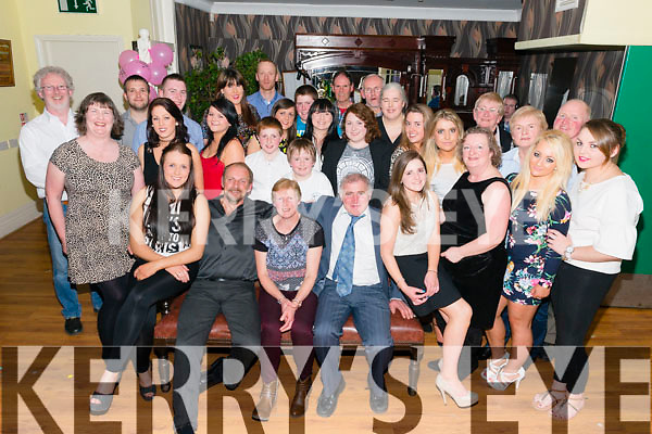 Kathleen Giles from Faha celebrated her 50th birthday surrounded by family and friends in the Old Killarney Inn last Saturday night.