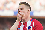 Kevin Gameiro of Atletico de Madrid reacts during their La Liga match between Atletico de Madrid and Sevilla FC at the Estadio Vicente Calderon on 19 March 2017 in Madrid, Spain. Photo by Diego Gonzalez Souto / Power Sport Images