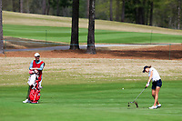 Emma Spitz (AUT) on the 9th during the second round of the Augusta National Womans Amateur 2019, Champions Retreat, Augusta, Georgia, USA. 04/04/2019.<br /> Picture Fran Caffrey / Golffile.ie<br /> <br /> All photo usage must carry mandatory copyright credit (&copy; Golffile | Fran Caffrey)