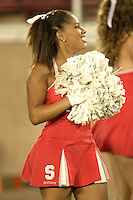 4 November 2006: The Stanford Dollies during Stanford's 42-0 loss to USC at Stanford Stadium in Stanford, CA.