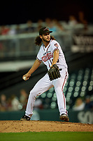 Richmond Flying Squirrels relief pitcher Kieran Lovegrove (40) during an Eastern League game against the Binghamton Rumble Ponies on May 29, 2019 at The Diamond in Richmond, Virginia.  Binghamton defeated Richmond 9-5 in ten innings.  (Mike Janes/Four Seam Images)