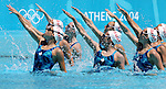 Olympia 2004 Athen Feature; Syncronschwimmen; Ringen; Training Team Canada