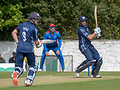Issued by Cricket Scotland - Scotland V Afghanistan 2nd One Day International - Grange CC - Cross and Coetzer at the crease - picture by Donald MacLeod - 10.05.19 - 07702 319 738 - clanmacleod@btinternet.com - www.donald-macleod.com