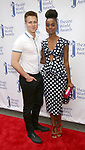 Denee Benton and boyfriend attends the 73rd Annual Theatre World Awards at The Imperial Theatre on June 5, 2017 in New York City.
