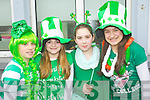 Pictured are Scoil Eoin Balloonagh pupils at their St. Patricks Parade on Friday, from left: Charlotte OMeara, Riadh OSullivan, Anna Murnal and Seniz Kuccuk..