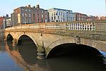 Father Matthew Bridge crossing River Liffey, city of Dublin, Ireland, Irish Republic