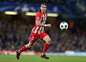 5th December 2017, Stamford Bridge, London, England; UEFA Champions League football, Chelsea versus Atletico Madrid; Filipe Luis of Atletico Madrid in action
