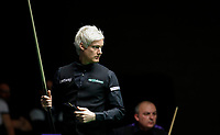 26th November 2019; York, England;  Neil Robertson of Australia reacts during the UK Snooker Championship 2019 first round match with Alex Borg of Malta in York on Nov. 26, 2019.
