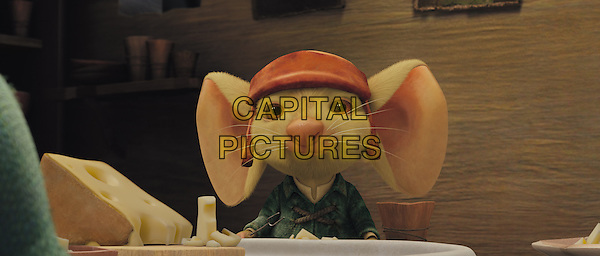 Noble mouse Despereaux (voiced by MATTHEW BRODERICK) describes excitement to his family.in The Tale of Despereaux.*Filmstill - Editorial Use Only*.CAP/FB.Supplied by Capital Pictures.
