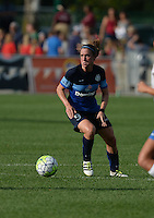 Kansas City, MO - Sunday August 28, 2016: Heather O'Reilly during a regular season National Women's Soccer League (NWSL) match between FC Kansas City and the Boston Breakers at Swope Soccer Village.