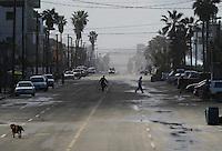 The border city of Tijuana, Baja California, Mexico on February 9, 2013.  (Javier Manzano / For The Washington Post).