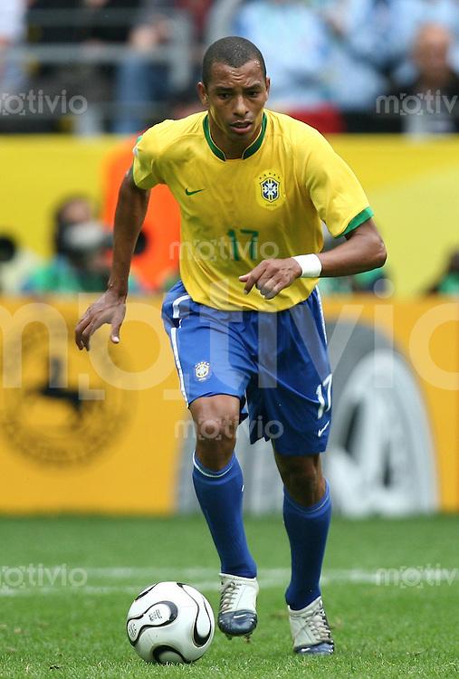Fussball WM 2006  Achtelfinale  Brasilien - Ghana Silvia Gilberto (BRA)