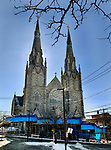 WATERBURY CT. 22 January 2018-012219SV03-St. Anne&rsquo;s Church in Waterbury Tuesday.<br /> Steven Valenti Republican-American