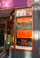 Sale at Monsoon, Guildford High Street.