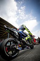 VALENTINO ROSSI - ITALIAN - MONSTER ENERGY YAMAHA MotoGP - YAMAHA<br /> Assen 30/06/2019  <br /> Moto Gp Paesi Bassi Olanda 2019 <br /> Foto Vincent Guignet / Panoramic / Insidefoto