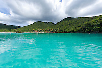 Maho Bay.Virgin Islands National Park.St. John.U.S. Virgin Islands