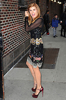 www.acepixs.com<br /> February 27, 2017 New York City<br /> <br /> Connie Britton arriving to tape an appearance on 'The Late Show with Stephen Colbert' on February 27, 2017 in New York City.<br /> <br /> Credit: Kristin Callahan/ACE Pictures<br /> <br /> Tel: (646) 769 0430<br /> e-mail: info@acepixs.com