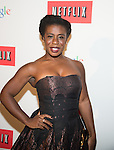 WASHINGTON, DC - MAY 2: Uzo Aduba  attending the Google and Netflix party to celebrate White House Correspondents' Dinner on May 2, 2014 in Washington, DC. Photo Credit: Morris Melvin / Retna Ltd.