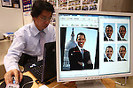 June 29, 2010 - Tokyo, Japan - Images of US president Barack Obama are seen during the PHOTONEXT 2010 at Tokyo Big Sight, Japan, on June 29, 2010. The annual two day event covers all areas of photo and imaging, targets all professionals and businesses in photography and hosts nearly 300 exhibit booths, exhibiting a variety of products including cameras, tripods, effect lamps, reflectors, DOF adapter and other professional photo and video accessories. Over 24,000 visitors are expected.
