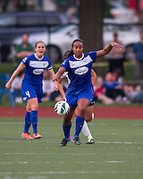 Boston Breakers midfielder Mariah Nogueira (20).  In a National Women's Soccer League Elite (NWSL) match, Sky Blue FC defeated the Boston Breakers, 3-2, at Dilboy Stadium on June 16, 2013
