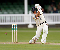 Joe Denly bats for Kent during day 1 of the four day tour match between Kent CCC and Pakistan at the St Lawrence Ground, Canterbury, on Sat April 28, 2018