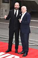 Johnny Harris &amp; Barry McGuigan at the Jawbone UK film premiere at the BFI Southbank in London, UK. <br /> 08 May  2017<br /> Picture: Steve Vas/Featureflash/SilverHub 0208 004 5359 sales@silverhubmedia.com