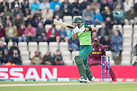 Aiden Markram  (South Africa) drives to point during South Africa vs West Indies, ICC World Cup Cricket at the Hampshire Bowl on 10th June 2019