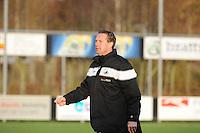 VOETBAL: JOURE: 09-11-2014, Sportpark de Hege Simmerdyk, SC Joure - VV Bergum, uitslag 3-1, trainer/coach Jan Bruin van VV Burgum, ©foto Martin de Jong