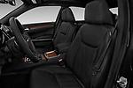Front seat view of 2017 Chrysler 300C Platinum 4 Door Sedan Front Seat  car photos