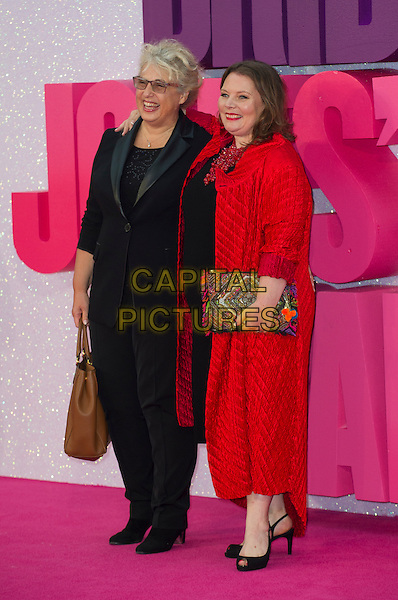 LONDON, ENGLAND - SEPTEMBER 05: Joanna Scanlan arrives for the world premiere of 'Bridget Jones's Baby' at Odeon Leicester Square on September 5, 2016 in London, England. <br /> CAP/PP/GM<br /> &copy;GM/PP/Capital Pictures