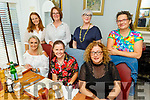 Members of the Tralee Rowing Club enjoying the evening in Bella Bia on Friday.<br /> Seated l to r: Tara O'Halloran Cronin, Tracey Smith and Geraldine Shannon.<br /> Standing l to r: Denise Steward, Noreen Moriarty, Ann Doyle and Tania Lawlor.