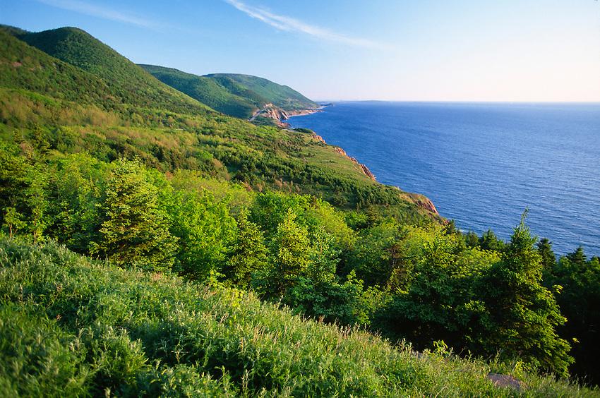 Cabot Trail, Cape Breton Highlands National Park, Nova Scotia, Canada