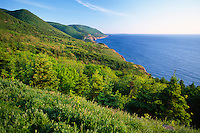 Cabot Trail, Cape Breton Highlands National Park, Nova Scotia, Canada