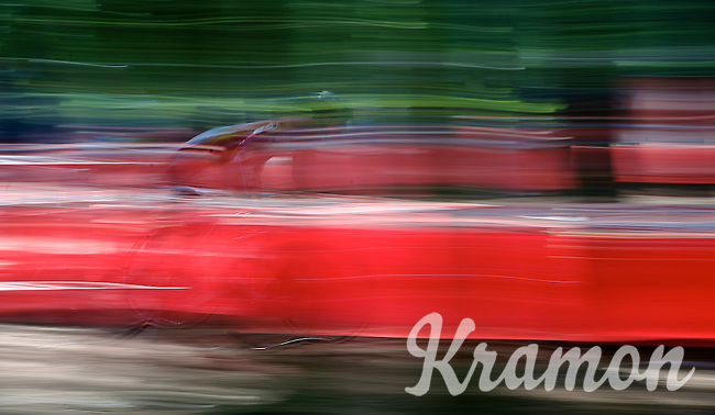 blurry cx rider<br /> <br /> GP Neerpelt 2014