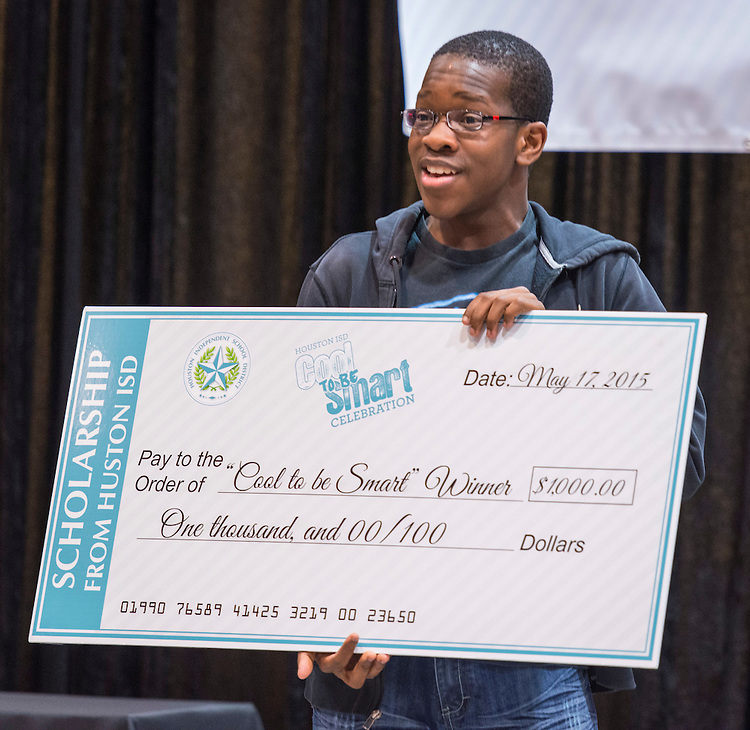 Houston ISD Juniors, Seniors and staff participate in Cool 2 Be Smart, May 17, 2015.