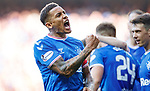 28.09.2018 Rangers v Aberdeen: James Tavernier celebrates his second penalty conversion