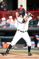 May 29th 2008:  Max Leon of the Erie Seawolves, Class-AA affiliate of the Detroit Tigers, during a game at Jerry Uht Park in Erie, PA.  Photo by:  Mike Janes/Four Seam Images