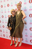 Sara Cox and her Mother at the Tesco Mum of the Year Awards 2014 held at the Savoy, London 23/03/2014 Picture by: Henry Harris / Featureflash